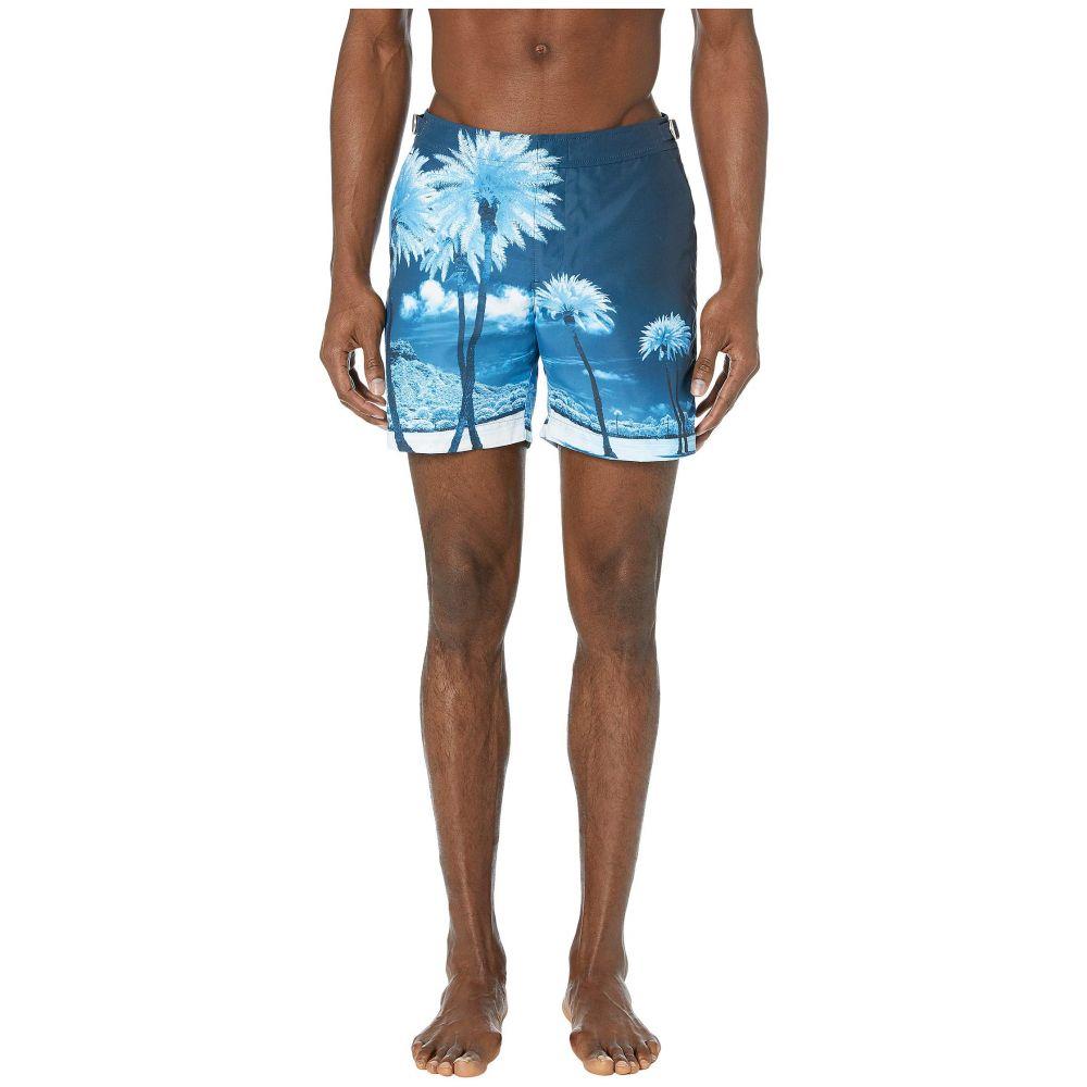 オールバー ブラウン Orlebar Brown メンズ 水着・ビーチウェア 海パン【Bulldog Photographic Swim Trunk】Blue Palms