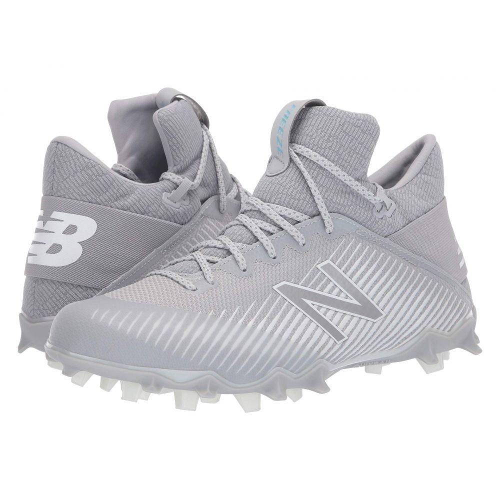 ニューバランス New Balance メンズ ラクロス シューズ・靴【FREEZv2 Lacrosse】Grey/White