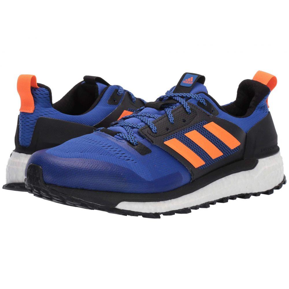 アディダス adidas Outdoor メンズ ランニング・ウォーキング シューズ・靴【Supernova Trail】Hi-Res Blue/Hi-Res Orange/Black