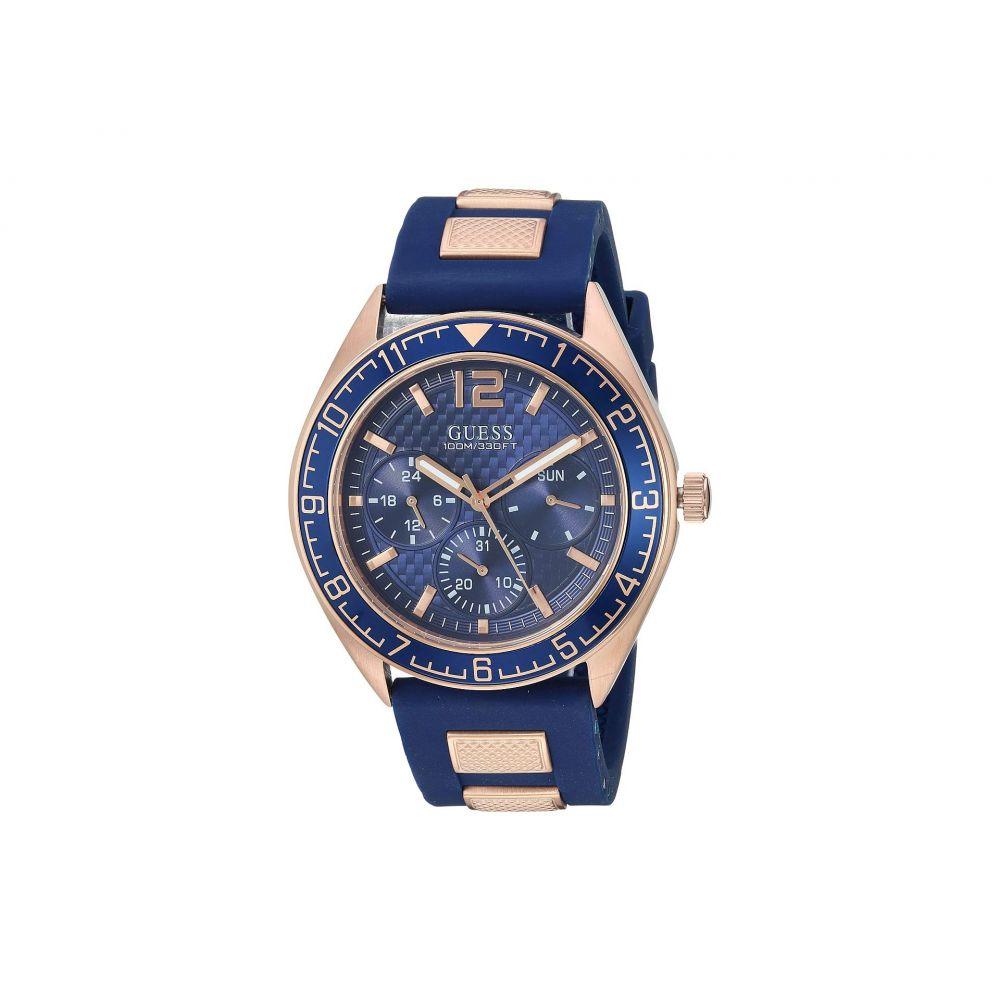 ゲス GUESS メンズ 腕時計【U1167G3】Blue/Gold