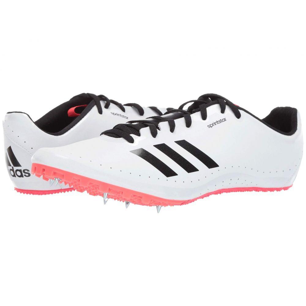 アディダス adidas Running メンズ ランニング・ウォーキング シューズ・靴【Sprintstar Spikes】Footwear White/Core Black/Shock Red