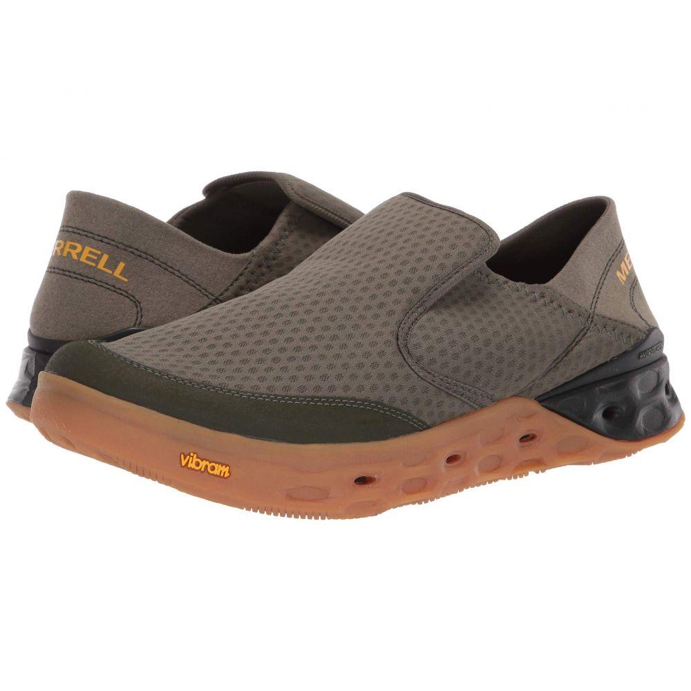 メレル Merrell メンズ ランニング・ウォーキング シューズ・靴【Tideriser Moc】Olive