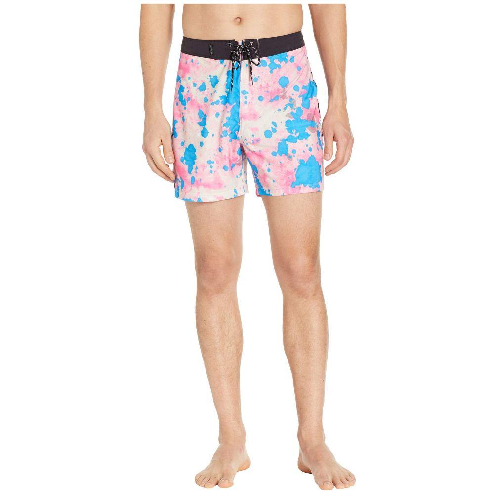 ハーレー Hurley メンズ 水着・ビーチウェア 海パン【Phantom Bleach Daze 16' Boardshorts】Hyper Pink