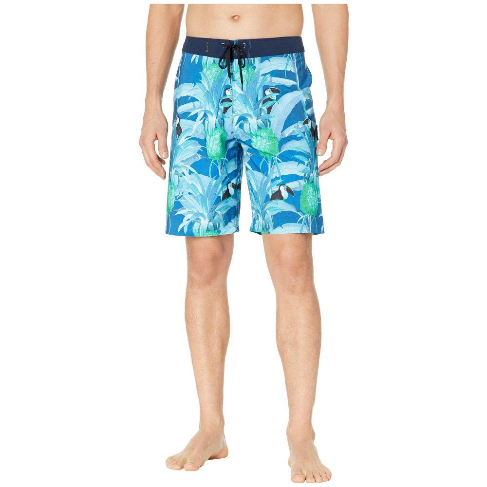 ハーレー Hurley メンズ 水着・ビーチウェア 海パン【Phantom Costa Rica 20' Boardshorts】Blue Force