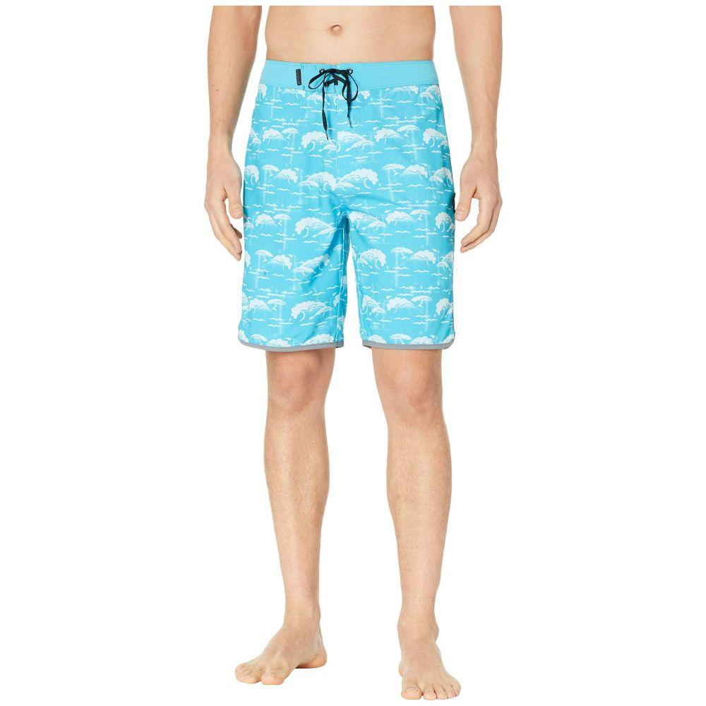 ハーレー Hurley メンズ 水着・ビーチウェア 海パン【Phantom Oak Street 20' Boardshorts】Light Blue Fury