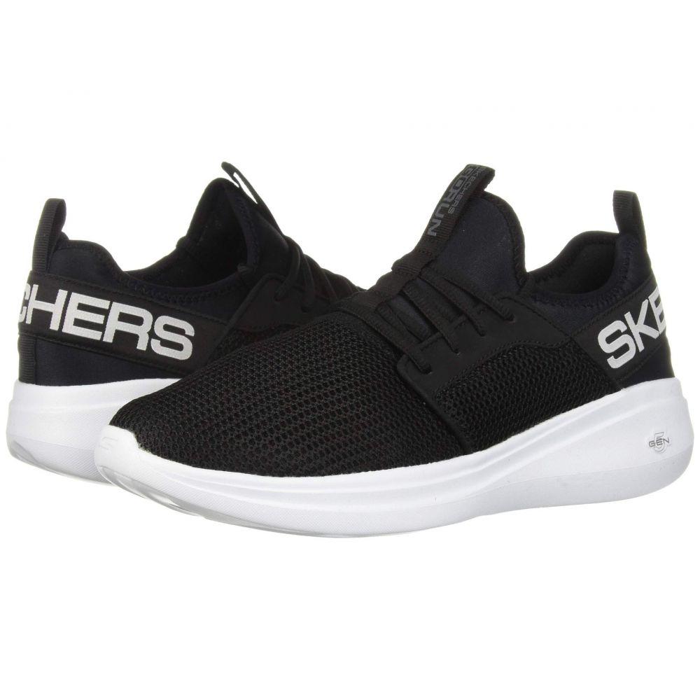 スケッチャーズ SKECHERS メンズ ランニング・ウォーキング シューズ・靴【Go Run Fast - Valor】Black/White