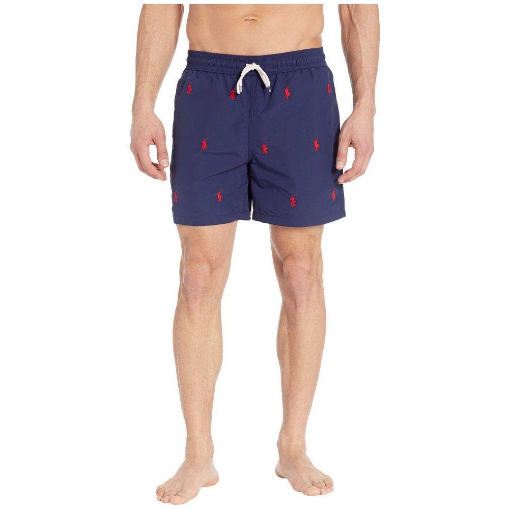 ラルフ ローレン Polo Ralph Lauren メンズ 水着・ビーチウェア 海パン【Traveler Swim Trunks】Newport Navy/Aoe