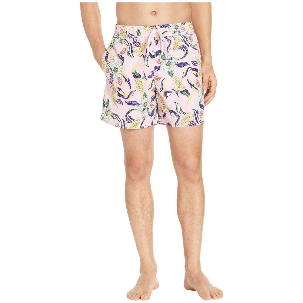ラルフ ローレン Polo Ralph Lauren メンズ 水着・ビーチウェア 海パン【Traveler Swim Trunks】Lotus Paradise