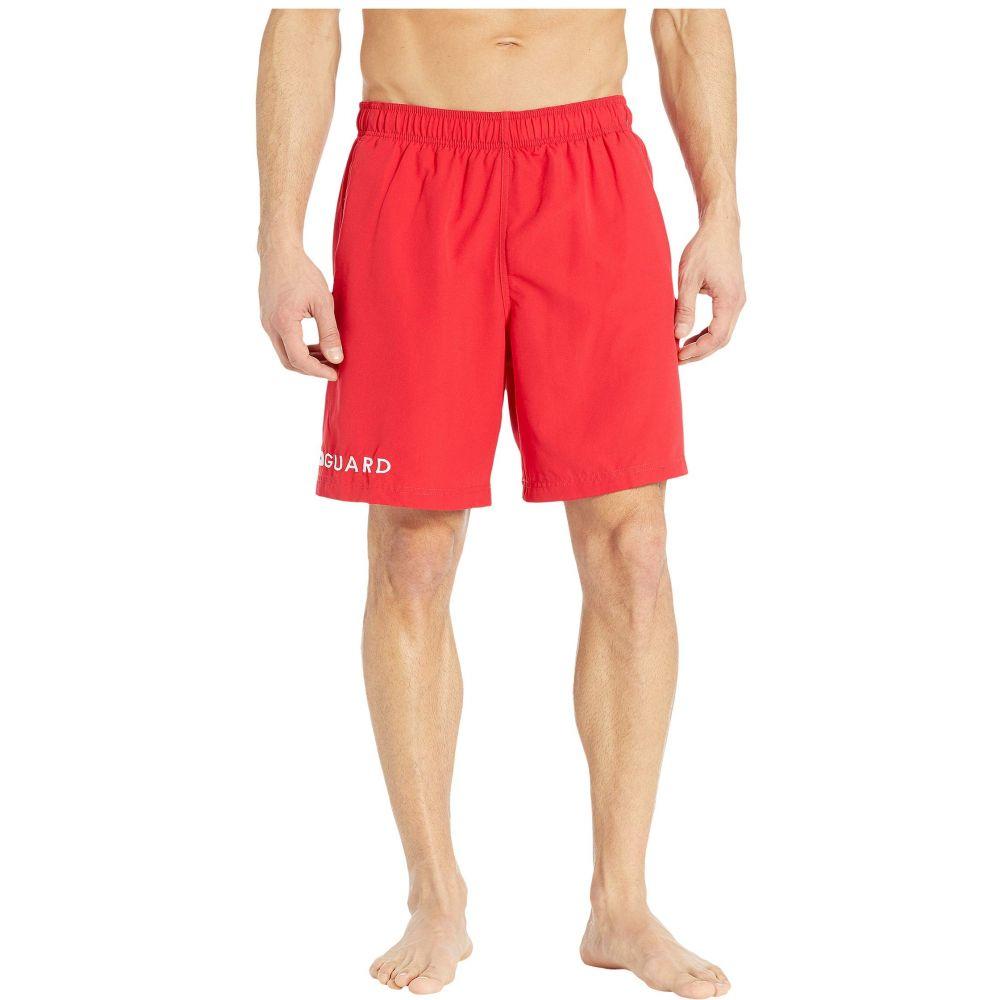スピード Speedo メンズ 水着・ビーチウェア 海パン【19' Guard Volley Shorts】Speedo Red