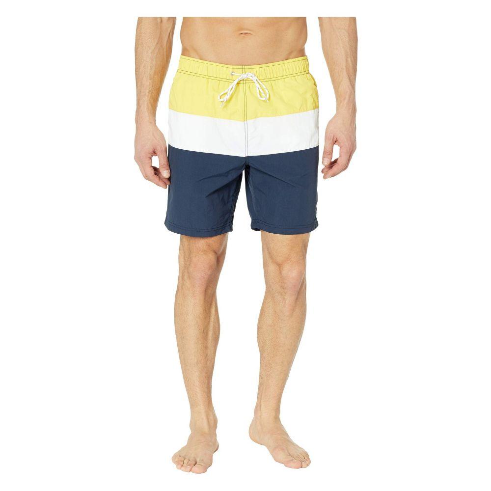 ノーティカ Nautica メンズ 水着・ビーチウェア 海パン【Tri-Block Swim Trunk】Sunfish Yellow