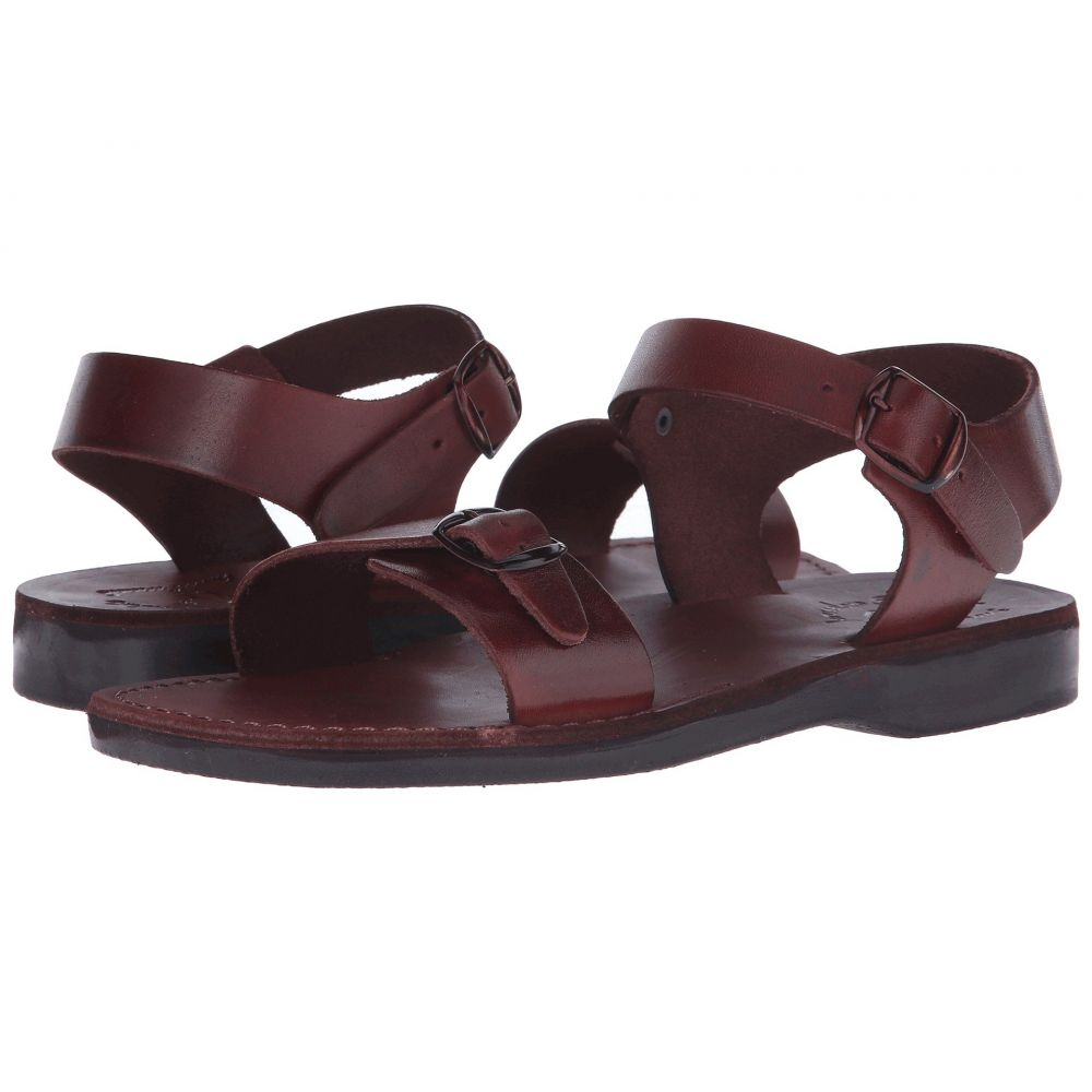 エルサレムサンダル Jerusalem Jerusalem Sandals メンズ シューズ・靴 サンダル【The Original サンダル【The Mens】Brown - Mens】Brown, 人気特価激安:4f6ee09b --- sunward.msk.ru