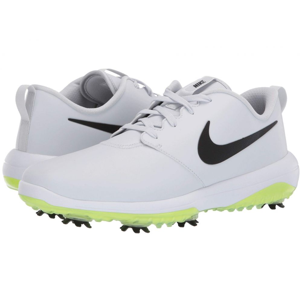 ナイキ Nike Golf メンズ ゴルフ シューズ・靴【Roshe G Tour】Pure Platinum/Black/White/Volt Glow