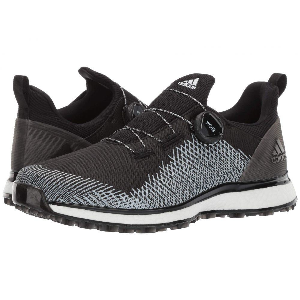 アディダス adidas Golf メンズ ゴルフ シューズ・靴【Forgefiber Boa】Core Black/Footwear White/Hi-Res Yellow