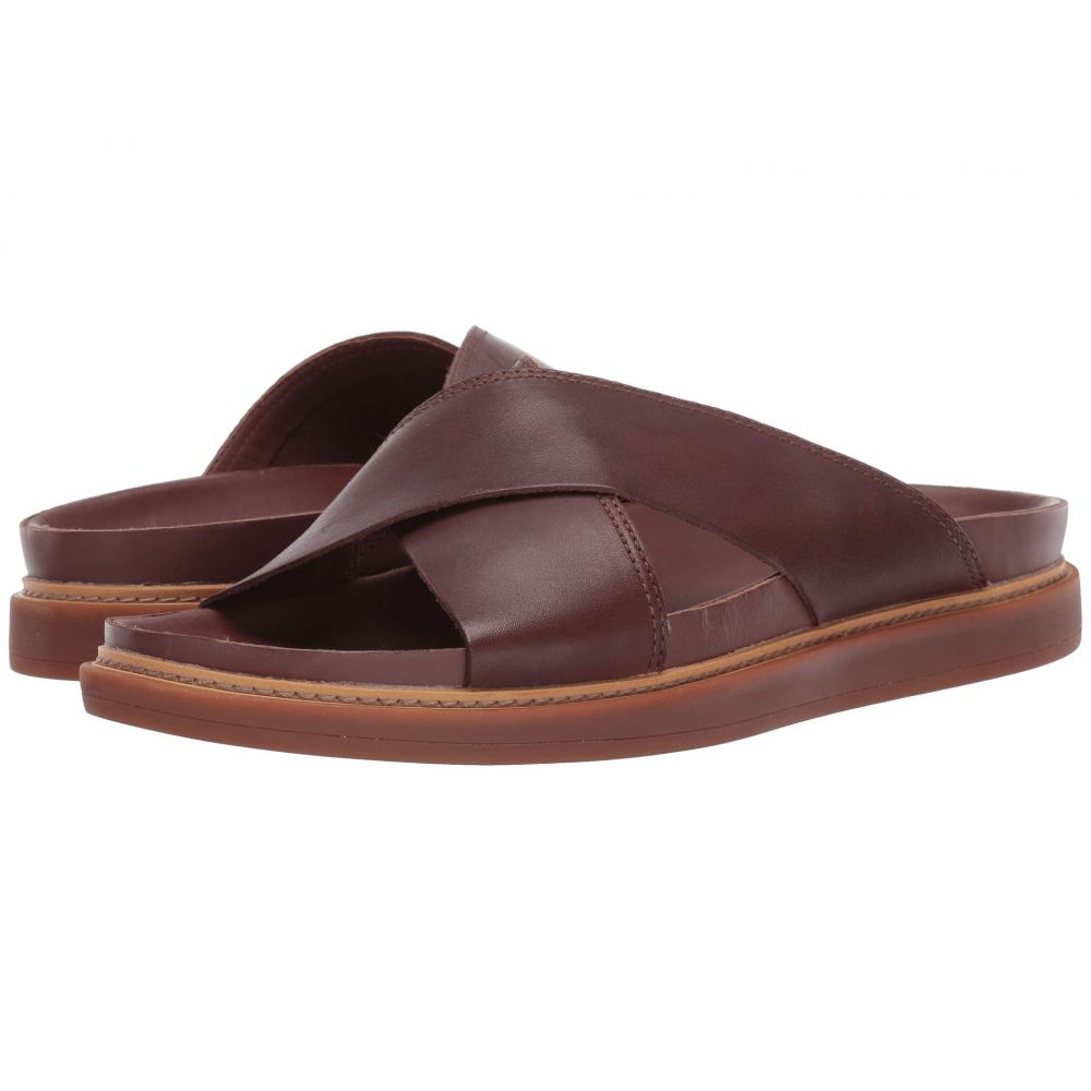 クラークス Clarks メンズ シューズ・靴 サンダル【Trace Cross】Mahogany Leather