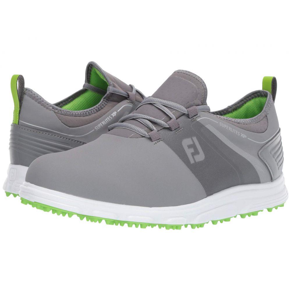 フットジョイ FootJoy メンズ ゴルフ シューズ・靴【Superlites XP Spikeless】Grey/Green
