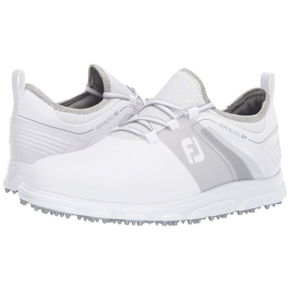 フットジョイ FootJoy メンズ ゴルフ シューズ・靴【Superlites XP Spikeless】White/Grey