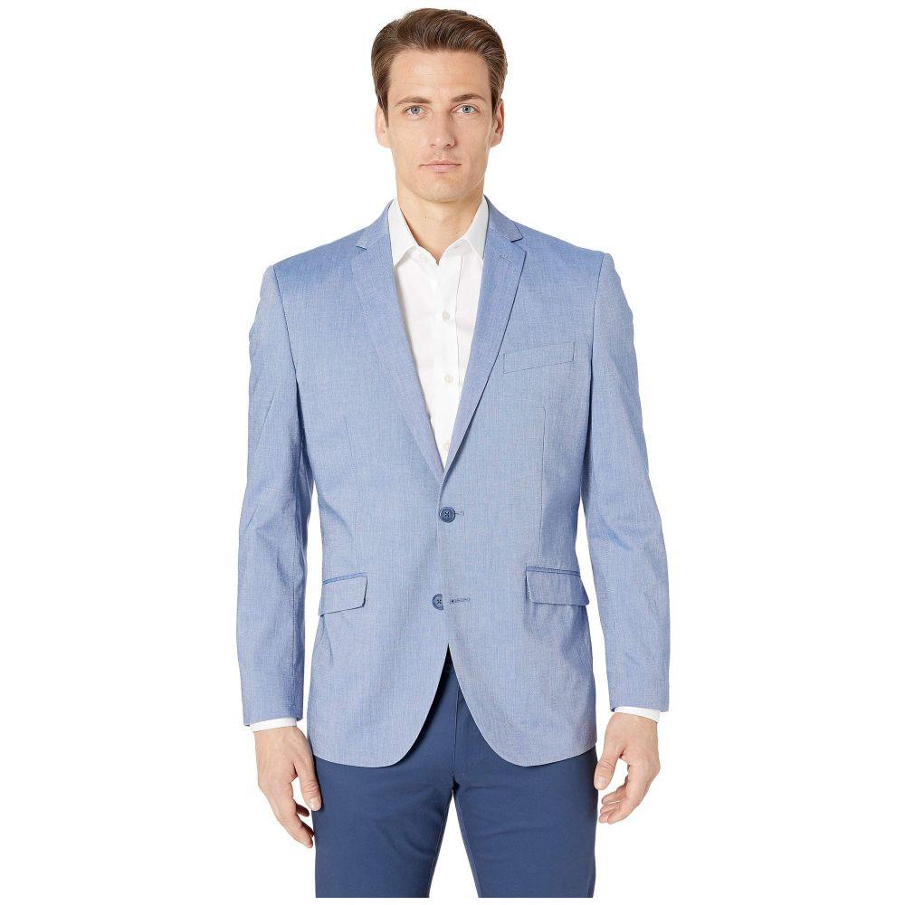ケネス コール Kenneth Cole Reaction メンズ アウター スーツ・ジャケット【Unlisted Chambray Sports Coat】Blue