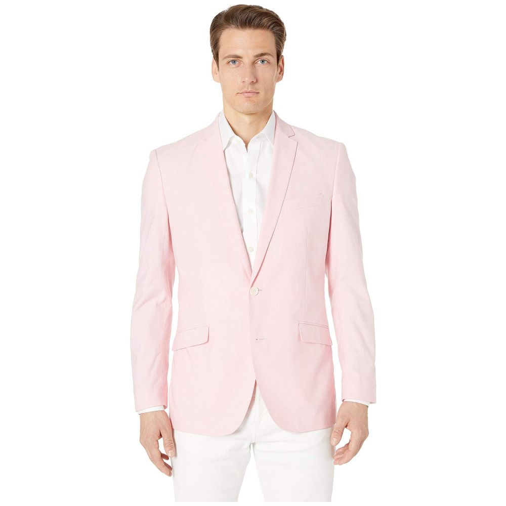 ケネス コール Kenneth Cole Reaction メンズ アウター スーツ・ジャケット【Unlisted Chambray Sports Coat】Pink