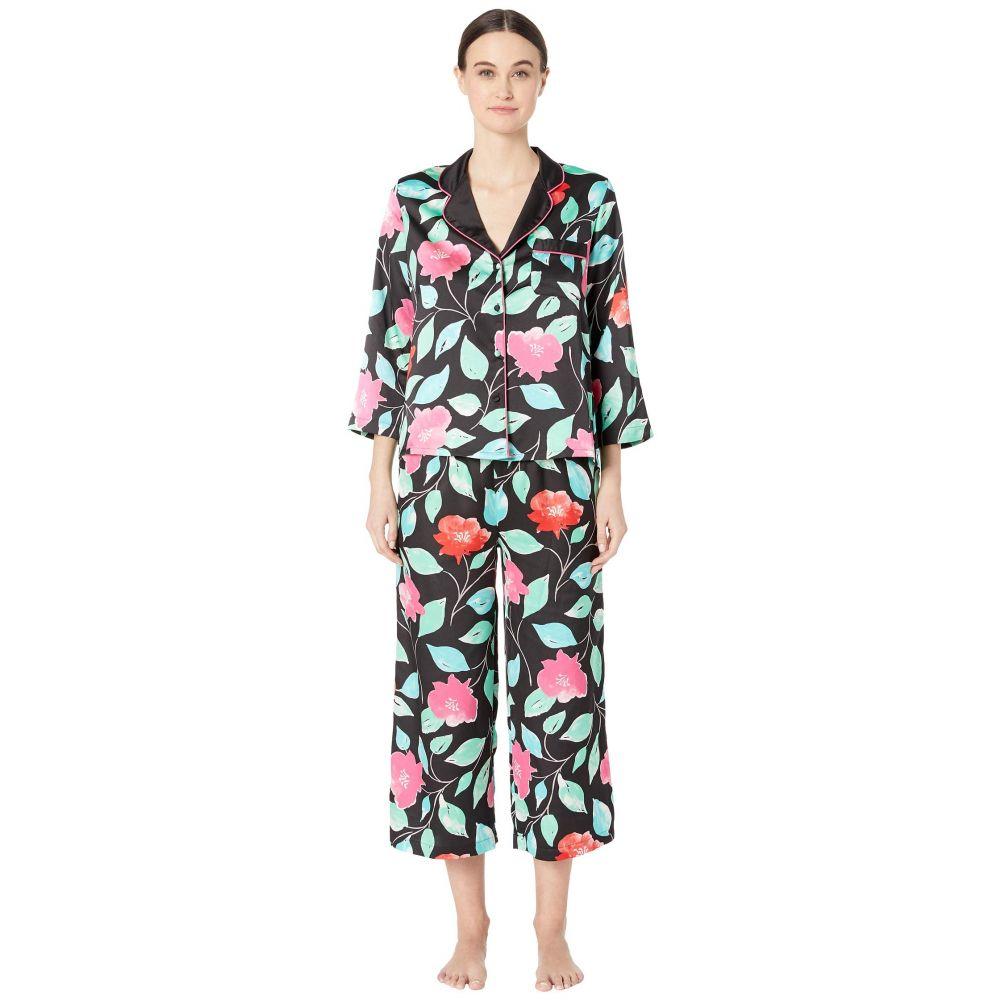 ケイト スペード Kate Spade New York レディース インナー・下着 パジャマ・上下セット【Charmeuse Cropped Pajama Set】Garden