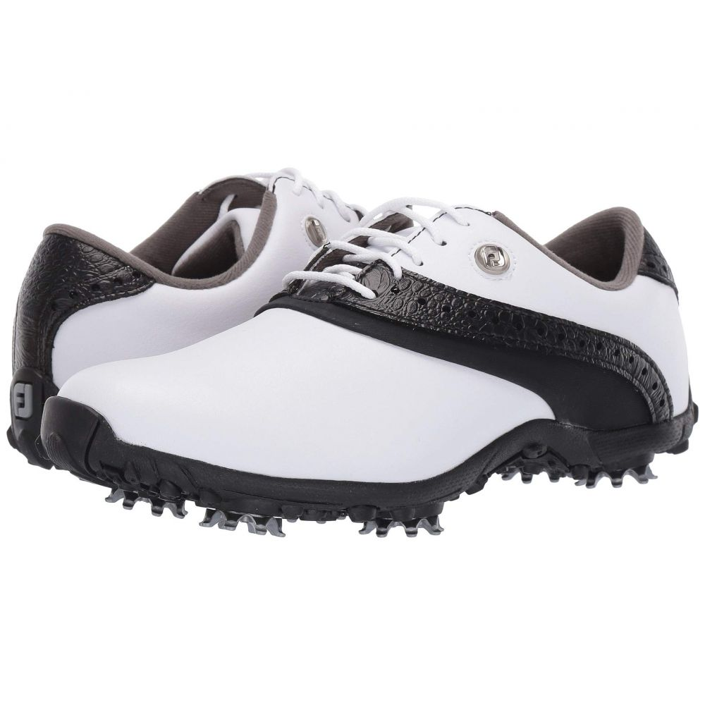 フットジョイ FootJoy レディース ゴルフ シューズ・靴【LoPro Collection】White/Black