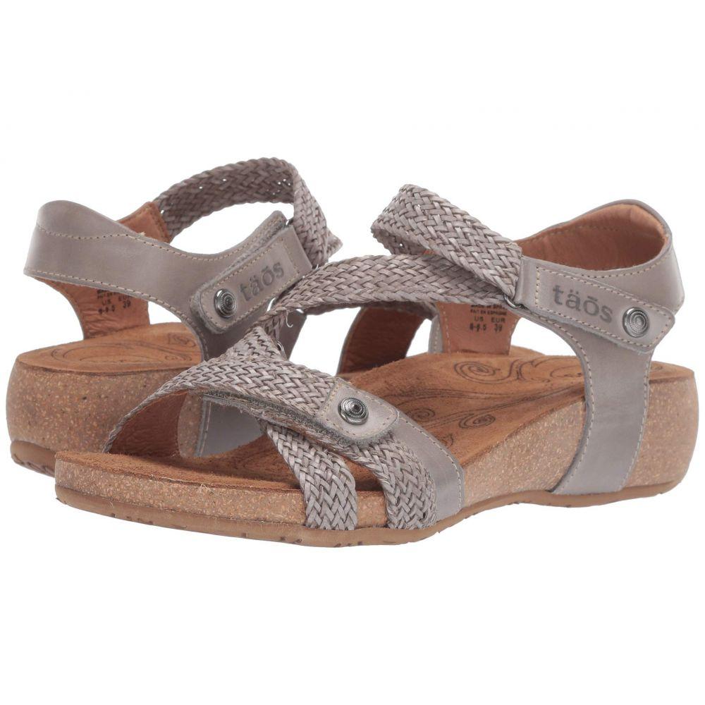 タオス Taos Footwear レディース シューズ・靴 サンダル・ミュール【Trulie】Light Grey