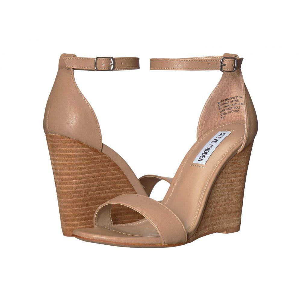 スティーブ マデン Steve Madden レディース シューズ・靴 サンダル・ミュール【Mary Wedge Sandal】Natural Leather