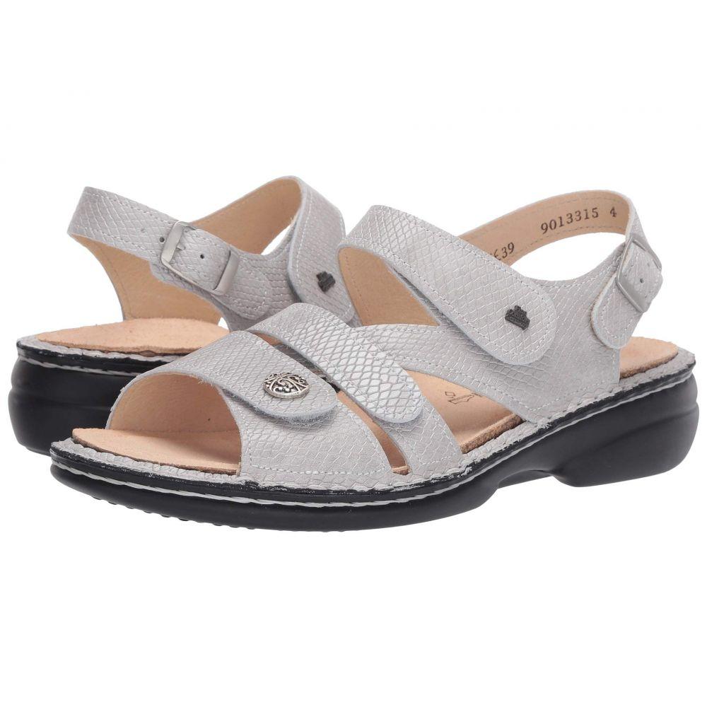 フィンコンフォート Finn Comfort レディース シューズ・靴 サンダル・ミュール【Gomera - 82562】Silver Kalahari