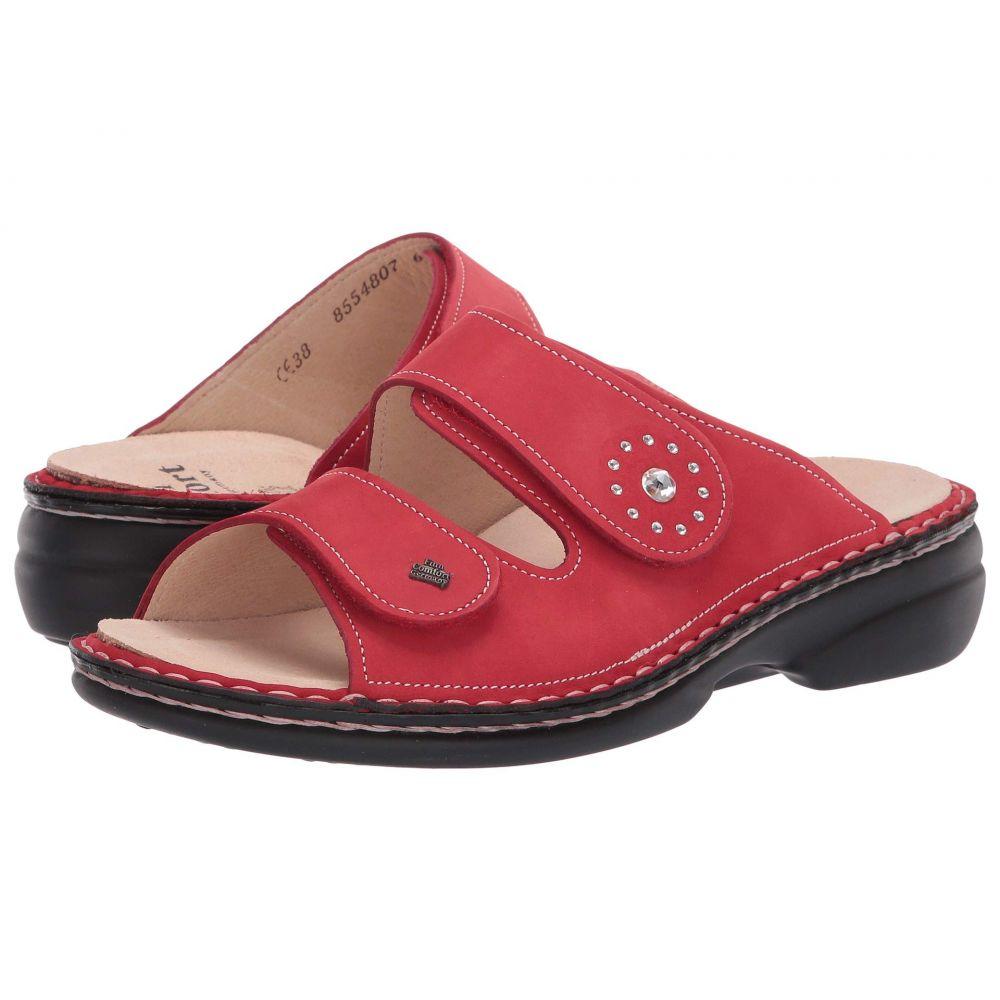 フィンコンフォート Finn Comfort レディース シューズ・靴 サンダル・ミュール【Beverly-S】Red