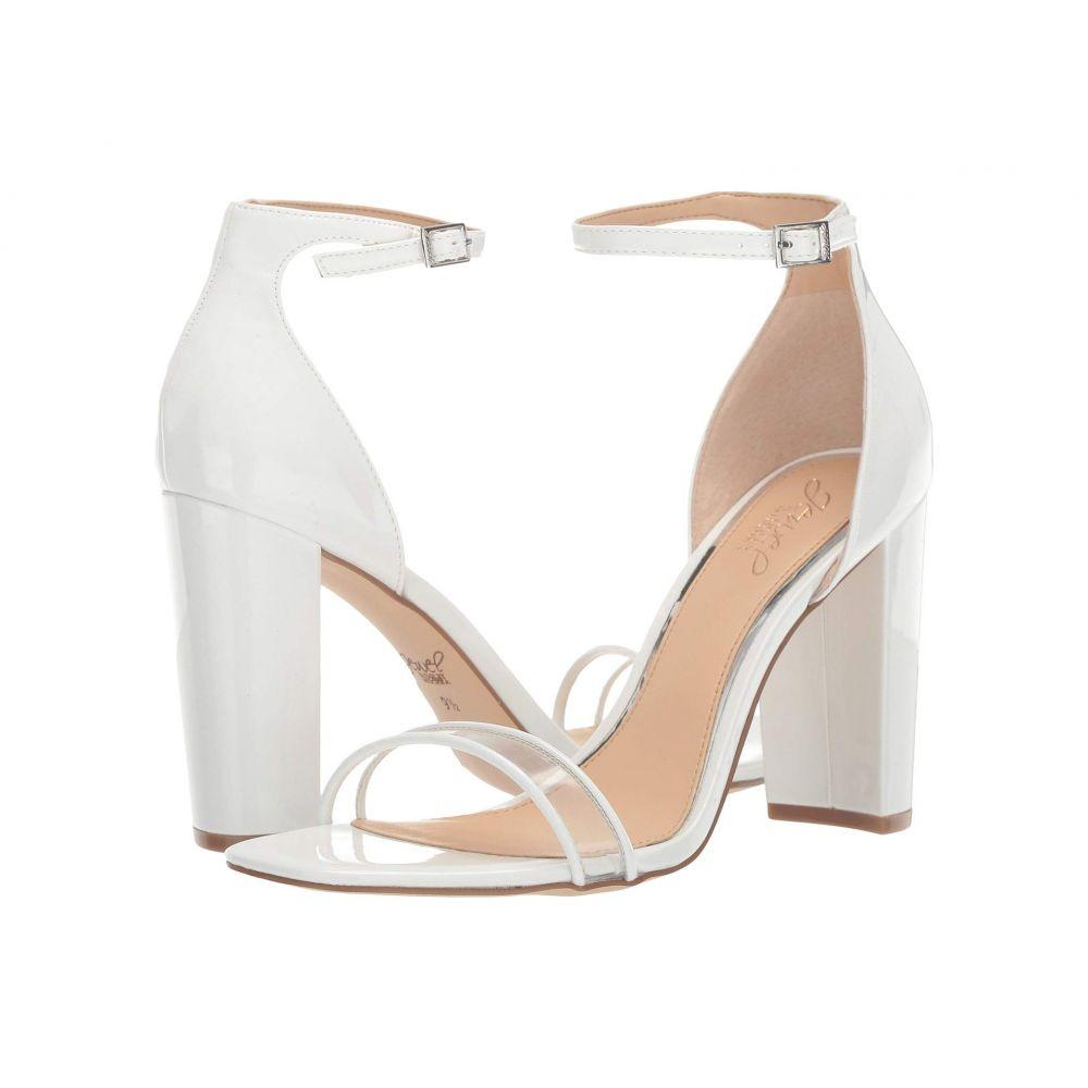 バッジェリー ミシュカ Jewel Badgley Mischka レディース シューズ・靴 サンダル・ミュール【Keshia II】White