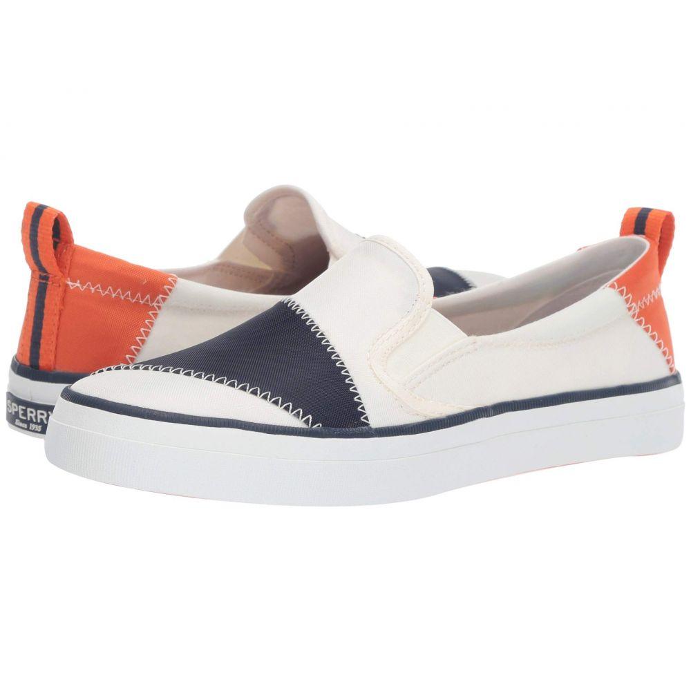 スペリー Sperry レディース シューズ・靴 スニーカー【Crest Twin Gore BIONIC】White/Navy/Orange