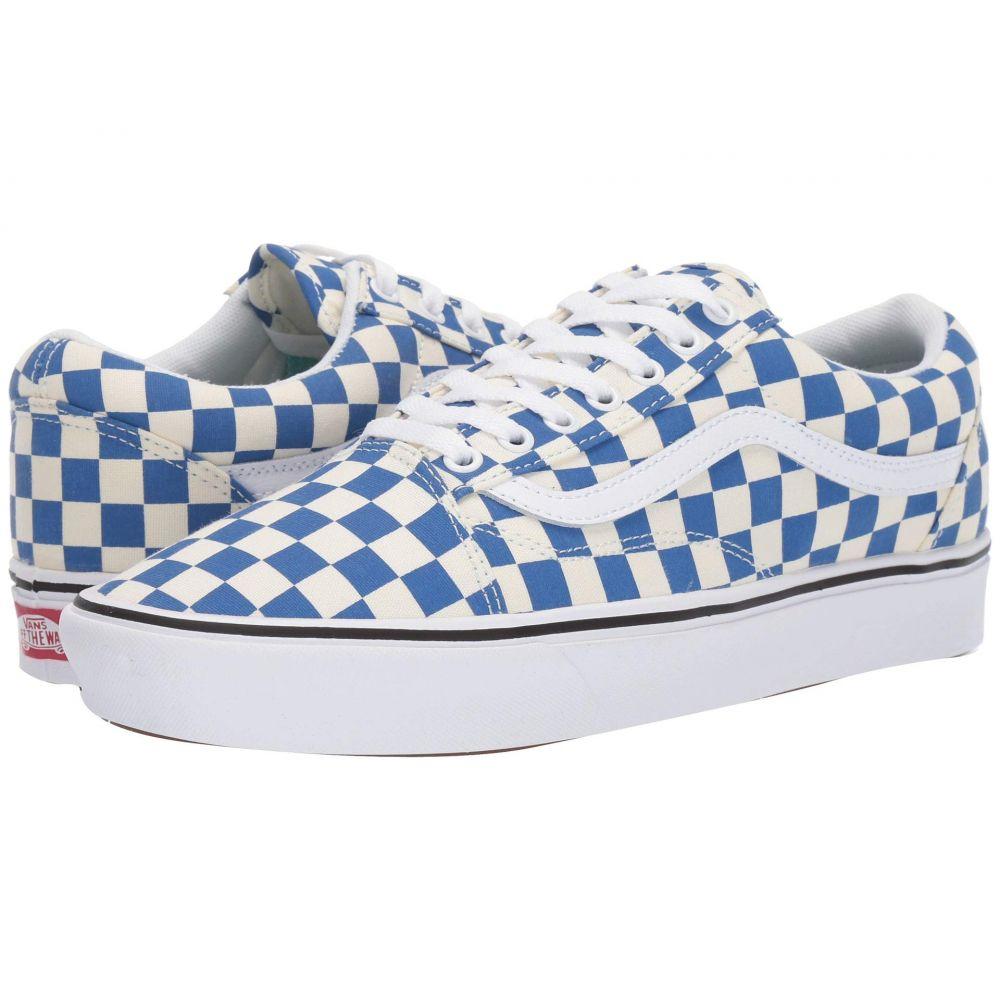 ヴァンズ Vans レディース シューズ・靴 スニーカー【Comfycush Old Skool】Checker) Lapis Blue/True White