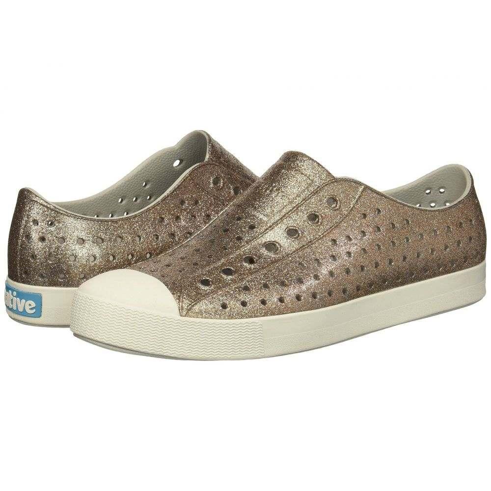 ネイティブ シューズ Native Shoes レディース シューズ・靴 スニーカー【Jefferson Bling】Metal Bling/Shell White