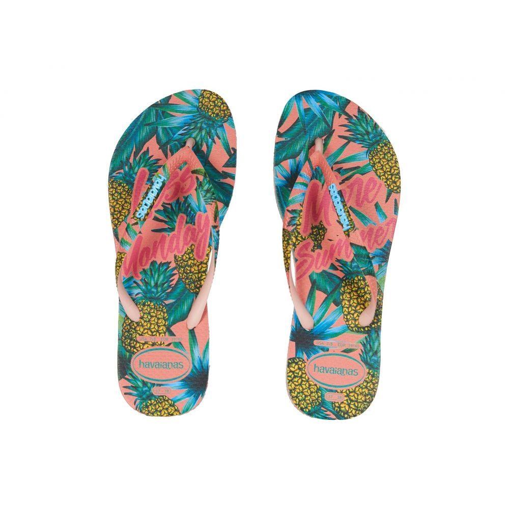 ハワイアナス Havaianas レディース シューズ・靴 ビーチサンダル【Slim Paradiso Flip Flops】Ballet Rose