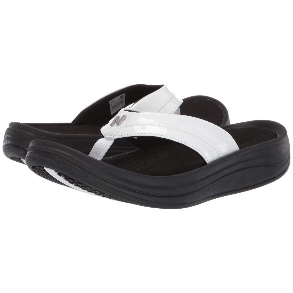 ニューバランス New Balance レディース シューズ・靴 ビーチサンダル【Revive Thong】Black/White