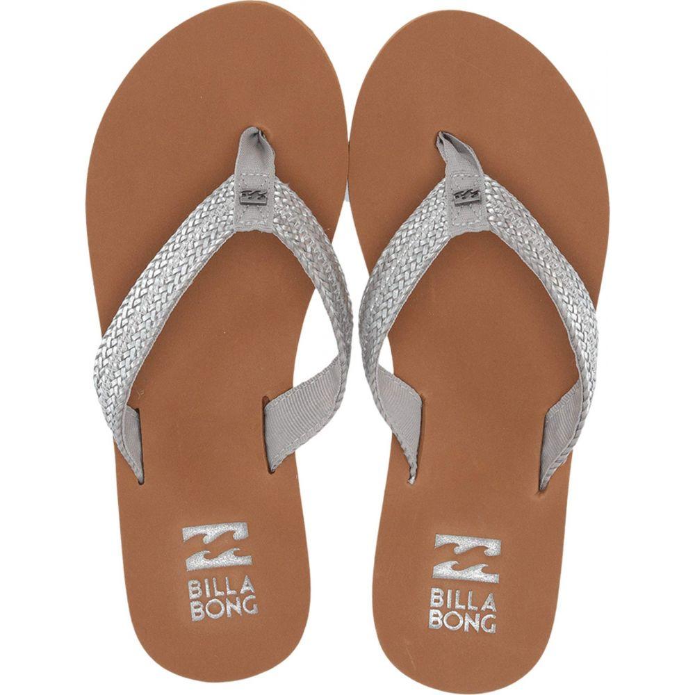 ビラボン Billabong レディース シューズ・靴 ビーチサンダル【Kai】Silver
