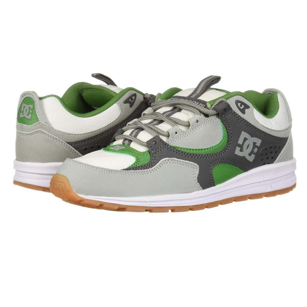 ディーシー DC メンズ シューズ・靴 スニーカー【Kalis Lite】Grey/White/Green