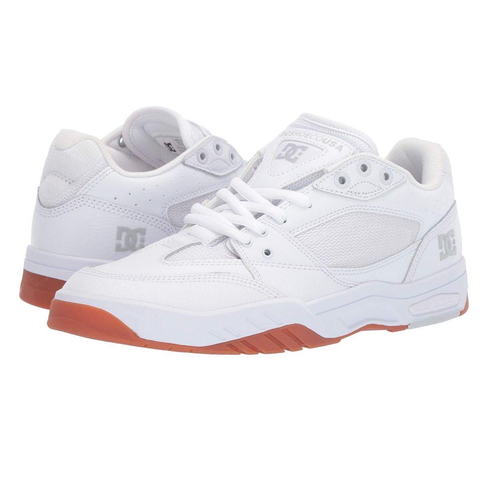 ディーシー DC メンズ シューズ・靴 スニーカー【Maswell】White/Gum