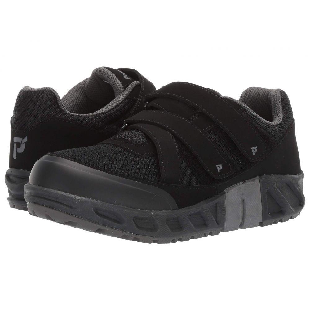 プロペット Propet メンズ シューズ・靴 スニーカー【Matthew Strap】Black Mesh/PU