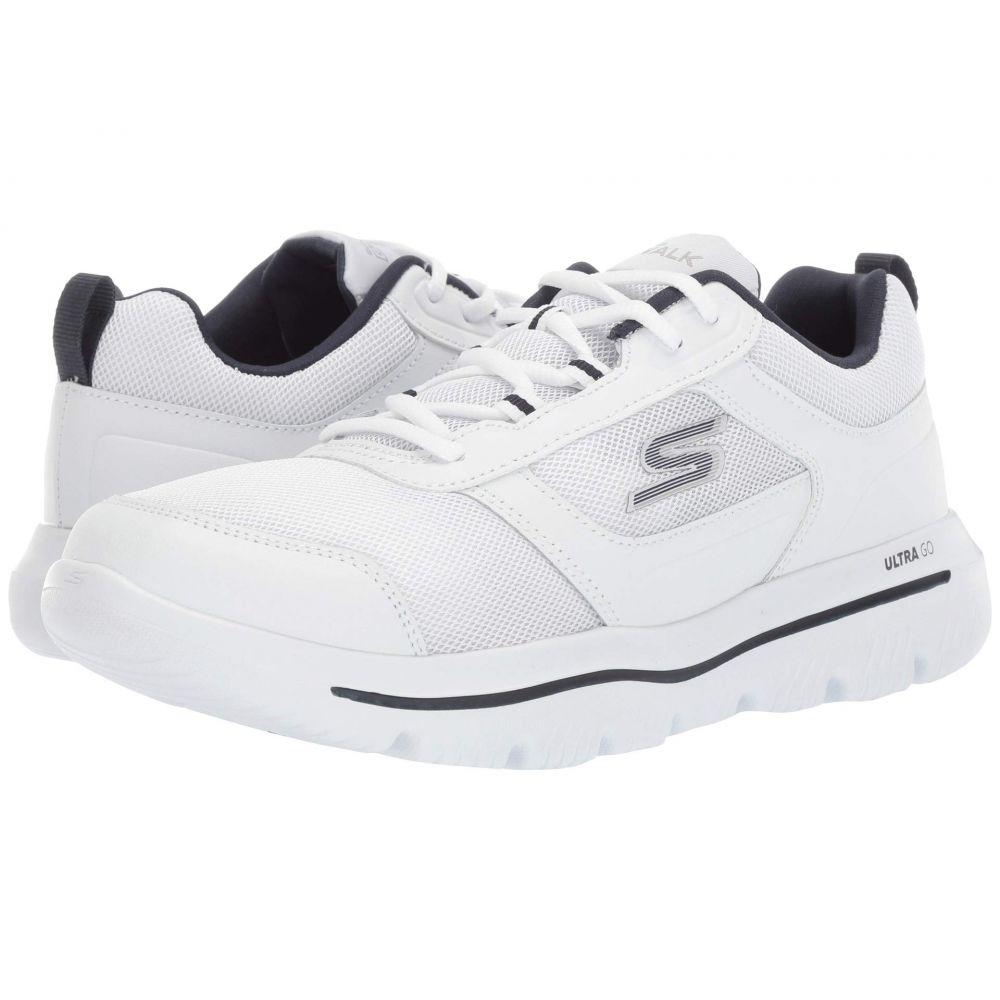 スケッチャーズ SKECHERS Performance メンズ シューズ・靴 スニーカー【Go Walk Evolution Ultra - 54734】White/Navy