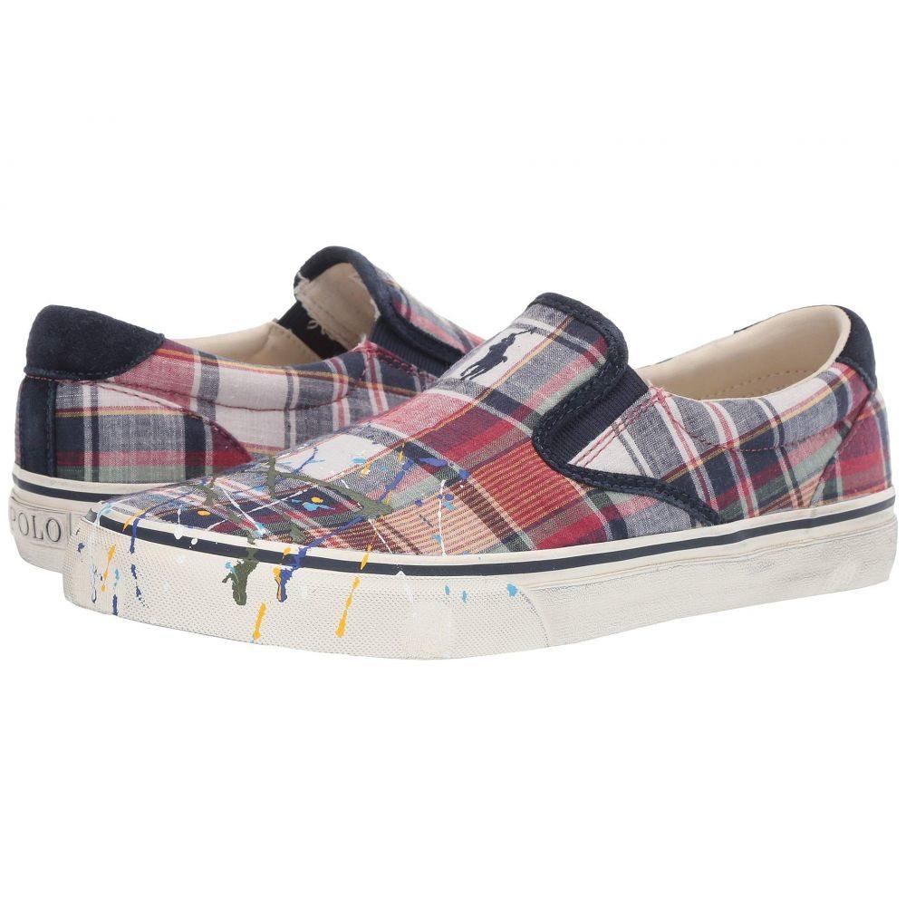 ラルフ ローレン Polo Ralph Lauren メンズ シューズ・靴 スニーカー【Thompson III】Multi Washed Madras