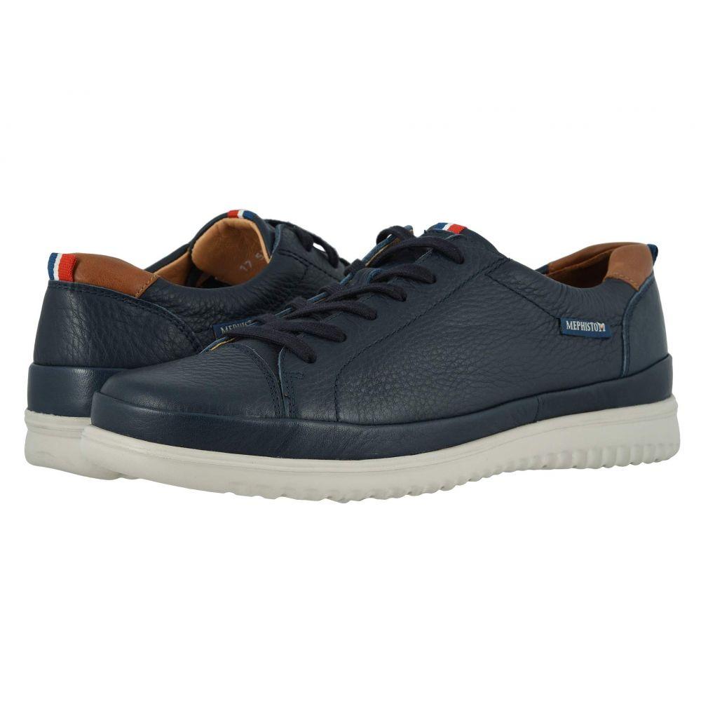 メフィスト Mephisto メンズ シューズ・靴 スニーカー【Thomas】Navy Oregon/Hazelnut Randy