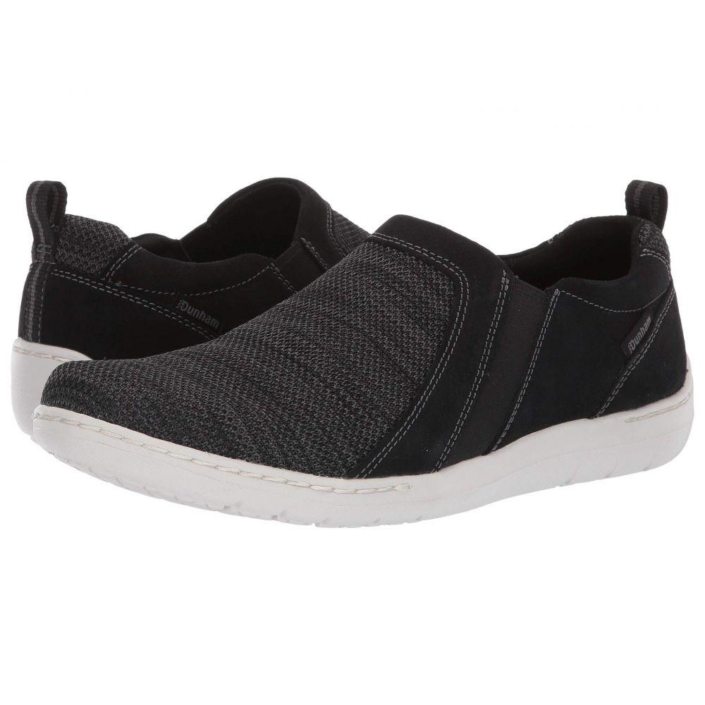 ダナム Dunham メンズ シューズ・靴 スニーカー【D Fitsmart Double Gore】Black