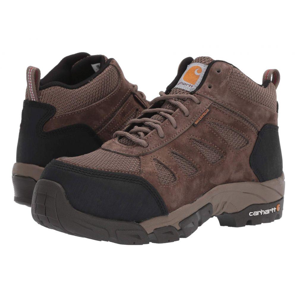 カーハート Carhartt レディース シューズ・靴 ブーツ【6' Lightweight Waterproof Work Hiker Carbon Nano Toe】Brown