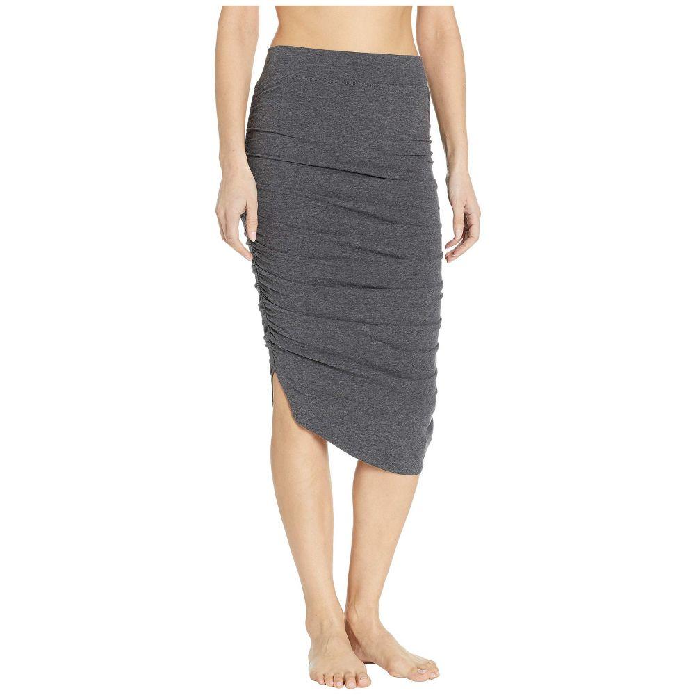 ハードテイル Hard Tail レディース スカート【Shirred Poet Skirt】Dark Charcoal Heather
