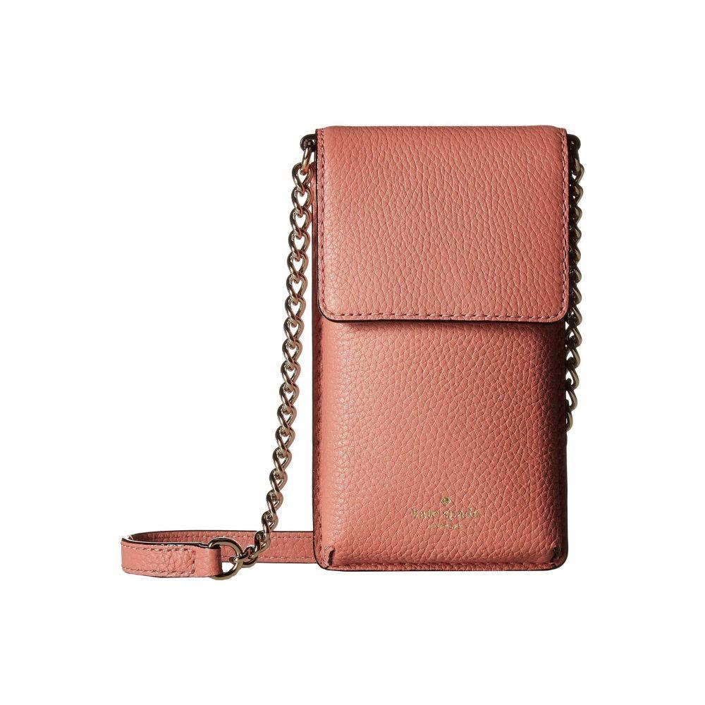 ケイト スペード Kate Spade New York レディース スマホケース【North/South Crossbody Phone Case for iPhone 6, 6s, 7, 8】Mauve Rose
