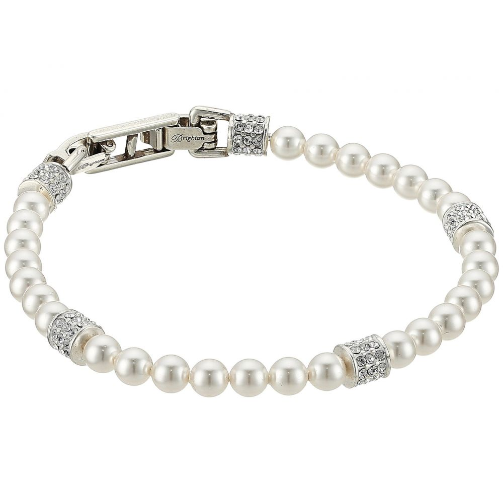 ブライトン Brighton レディース ジュエリー・アクセサリー ブレスレット【Meridian Petite Pearl Bracelet】Pearl