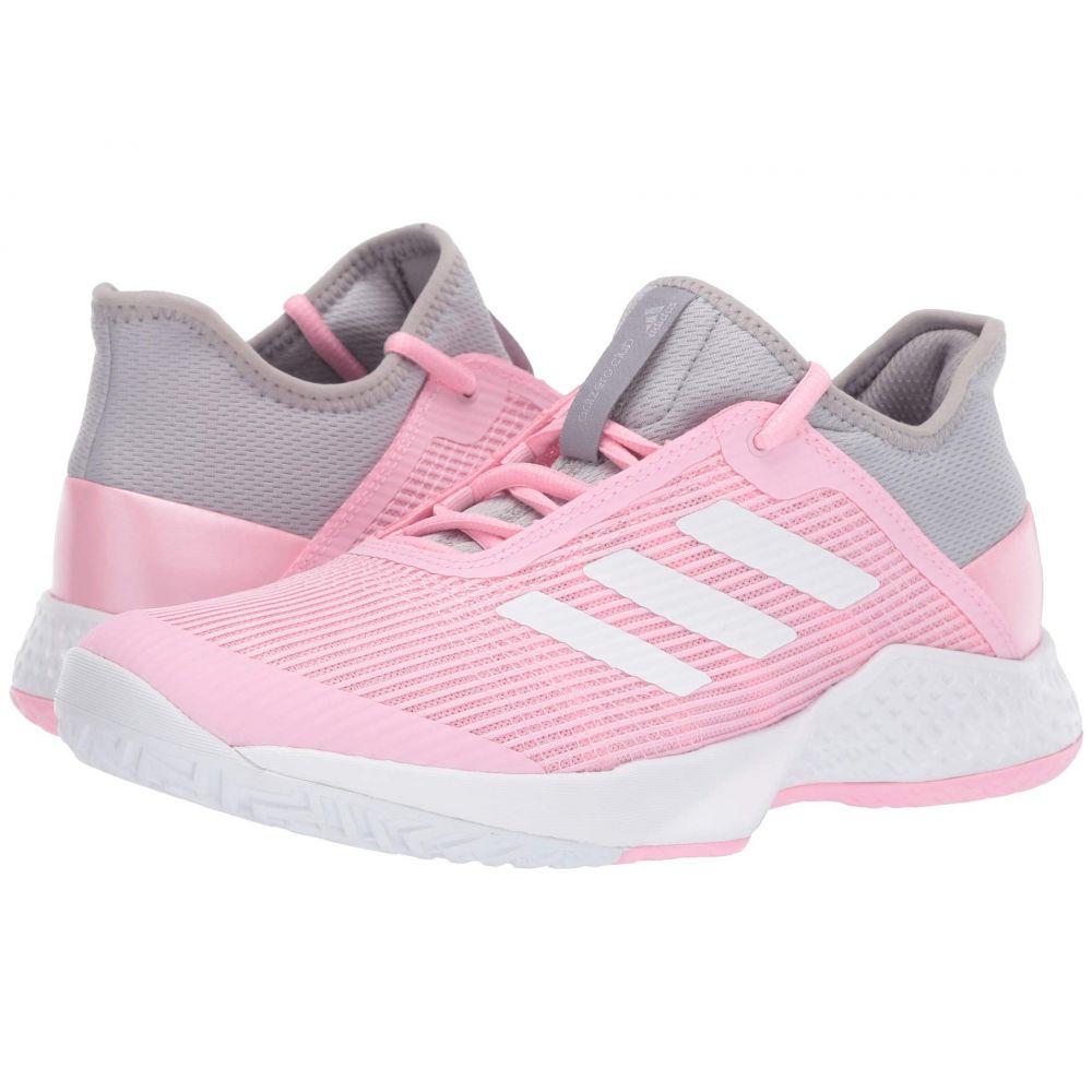 アディダス adidas レディース テニス シューズ・靴【Adizero Club 2】Light Granite/Footwear White/True Pink