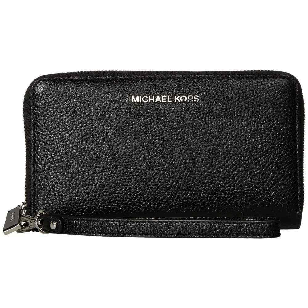 マイケル コース MICHAEL Michael Kors レディース スマホケース【Large Flat Multifunction Phone Case】Black