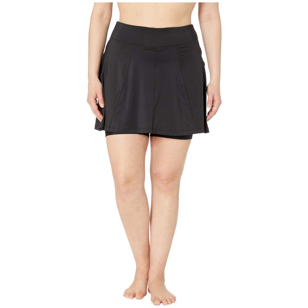 スカートスポーツ Skirt Sports レディース スカート【Plus Size Free Flow Skirt】Black