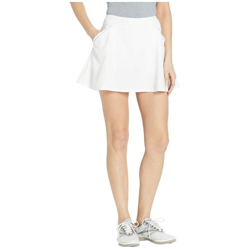 アンダーアーマー Under Armour Golf レディース スカート ミニスカート【Links Skort】White/White/White
